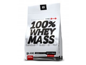 Hi Tec Nutrition BS Blade 100% Whey Mass Gainer 1500g + Mr.Flapjack Protein 120g - chocolate