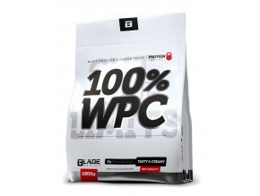 Hi Tec Nutrition BS Blade 100% WPC Protein 1800g + VegeFiit Protein 30g - AKCE - double chocolate  + šťavnatá tyčinka ZDARMA