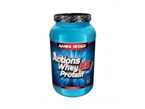Aminostar Actions Whey Protein 85 2000g  + šťavnatá tyčinka ZDARMA