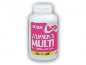 USN Multi Vitamins for Women 90 tablet  + šťavnatá tyčinka ZDARMA