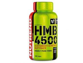 Nutrend HMB 4500 100 kapslí  + šťavnatá tyčinka ZDARMA