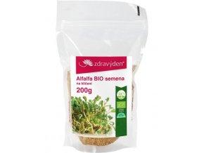 Zdravý den Alfalfa BIO – semena na klíčení 200g