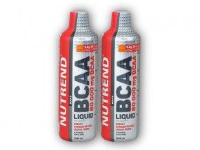 Nutrend 2x BCAA Liquid 1000ml  + šťavnatá tyčinka ZDARMA