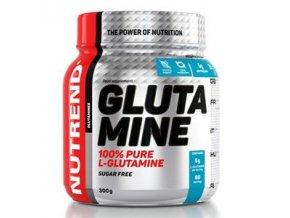 Nutrend Glutamine 300 g  + šťavnatá tyčinka ZDARMA