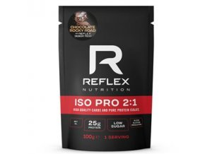Reflex ISO PRO 2:1 100g chocolate rocky road