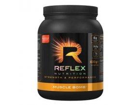 Reflex Muscle Bomb 600g  + šťavnatá tyčinka ZDARMA