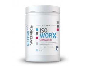 NutriWorks Iso Worx 1kg + Vitamin C 200g ZDARMA  + šťavnatá tyčinka ZDARMA