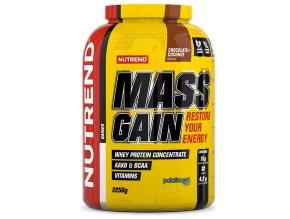 Nutrend Mass Gain 2250g  + šťavnatá tyčinka ZDARMA