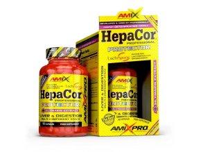 Amix Pro Series HepaCor Protector 90 kapslí  + šťavnatá tyčinka ZDARMA