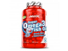 Amix Super Omega 3 Fish Oil 1000mg 90 kapslí