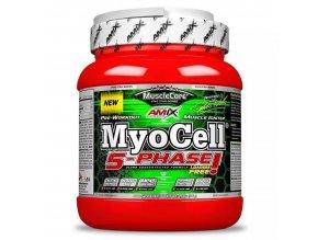 Amix MuscLe Core Five Star Series MyoCell 5-PHASE 500g  + šťavnatá tyčinka ZDARMA