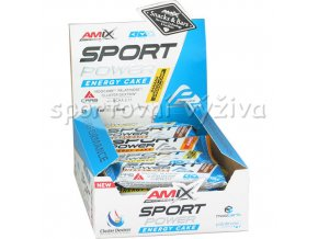 Amix Performance Series 20x Sport Power Energy Snack Bar 45g  + šťavnatá tyčinka ZDARMA