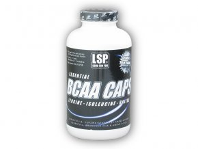 LSP Nutrition BCAA volucaps 951mg 300 kapslí  + šťavnatá tyčinka ZDARMA