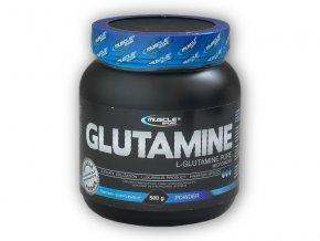 Musclesport Glutamine pure 500g  + šťavnatá tyčinka ZDARMA