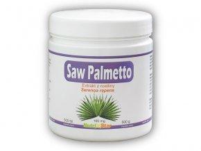Nutristar Saw Palmetto 160mg 500 tablet  + šťavnatá tyčinka ZDARMA