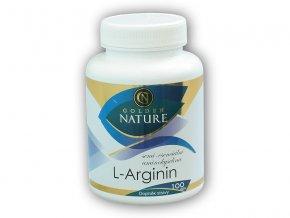Golden Natur L-Arginin 100 kapslí