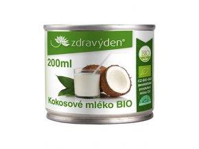 Zdravý den Kokosové mléko BIO 200ml