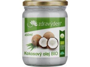 Zdravý den Kokosový olej BIO 450ml