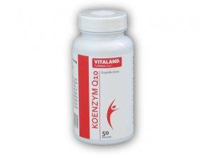 Vitaland Vitaland Koenzym Q10 60mg 50 kapslí  + šťavnatá tyčinka ZDARMA
