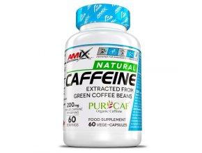 Amix Performance Series Caffeine Natural 200mg 60 kapslí  + šťavnatá tyčinka ZDARMA