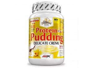 Amix Mr.Popper´s Protein Pudding 600g  + šťavnatá tyčinka ZDARMA