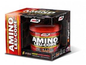 Amix Amino Leu-CORE 8:1:1 390g  + šťavnatá tyčinka ZDARMA
