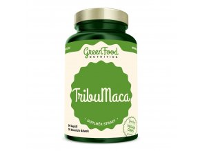 GreenFood Nutrition TribuMaca 90 vegan kapslí