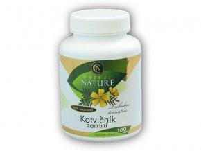 Golden Natur Kotvičník zemní 90% saponinů 100 kapslí  + šťavnatá tyčinka ZDARMA