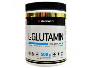 Hi Tec Nutrition Diamond line L-Glutamin profesional 500g  + šťavnatá tyčinka ZDARMA