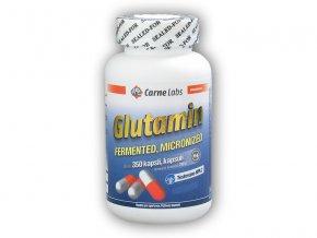 Carne Labs L-Glutamin 500 mg 350 kapslí  + šťavnatá tyčinka ZDARMA