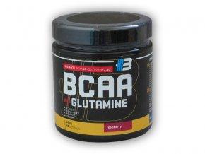 Body Nutrition BCAA - glutamine 400g  + šťavnatá tyčinka ZDARMA