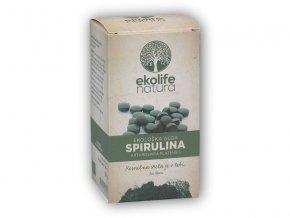 Ekolife Natura Algae Spirulina Organic 240 tablet Bio řasa