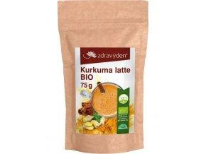 Zdravý den Kurkuma latte BIO 75g