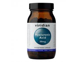 Viridian Hyaluronan 90 kapslí  + šťavnatá tyčinka ZDARMA