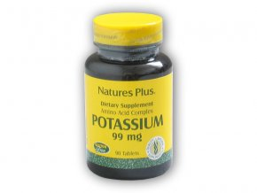 Nature's Plus Source of Life Potassium 99mg 90 tablet