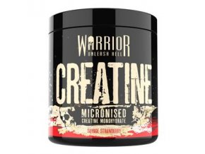 WARRIOR Creatine Micronised 300g savage strawberry