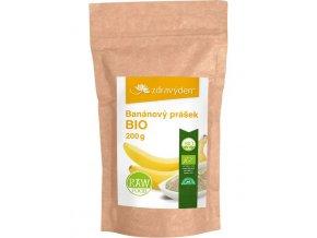 Zdravý den Banánový prášek BIO 200g
