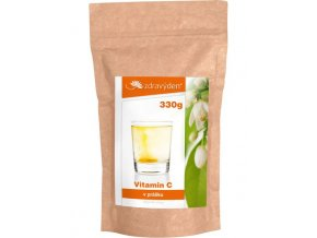 Zdravý den Vitamín C 330g  + šťavnatá tyčinka ZDARMA