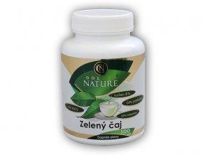 Golden Natur Zelený čaj 100 kapslí  + šťavnatá tyčinka ZDARMA