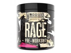 WARRIOR RAGE Pre-Workout 392g  + šťavnatá tyčinka ZDARMA