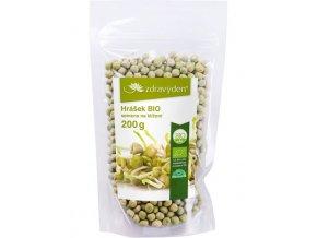 Zdravý den Hrášek BIO - semena na klíčení 200g