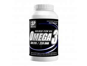 LSP Nutrition Omega 3 100 kapslí  + šťavnatá tyčinka ZDARMA