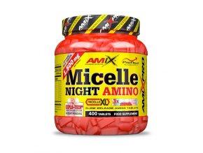 Amix Pro Series Micelle Night Amino 250 tablet  + šťavnatá tyčinka ZDARMA