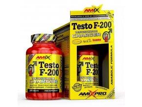 Amix Pro Series Testo F-200 250 tablet  + šťavnatá tyčinka ZDARMA