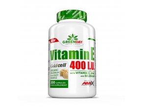 Amix GreenDay Vitamin E Life+ 200 kapslí  + šťavnatá tyčinka ZDARMA