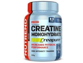 Nutrend Creatine Monohydrate Creapure 500g  + šťavnatá tyčinka ZDARMA