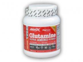 Amix Glutamine Ultra Amino Power 500g  + šťavnatá tyčinka ZDARMA