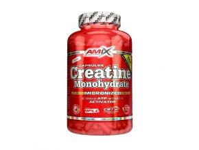 Amix Creatine Monohydrate 500 kapslí  + šťavnatá tyčinka ZDARMA