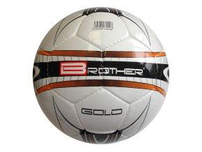 ACRA K2 Fotbalový míč BROTHER GOLD velikost 5  + šťavnatá tyčinka ZDARMA