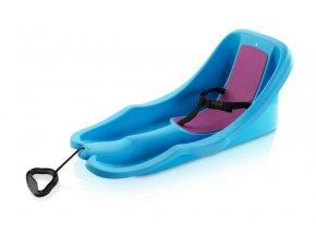 Acra Baby rider bob plastový 05-A2028/1 - modrý  + šťavnatá tyčinka ZDARMA
